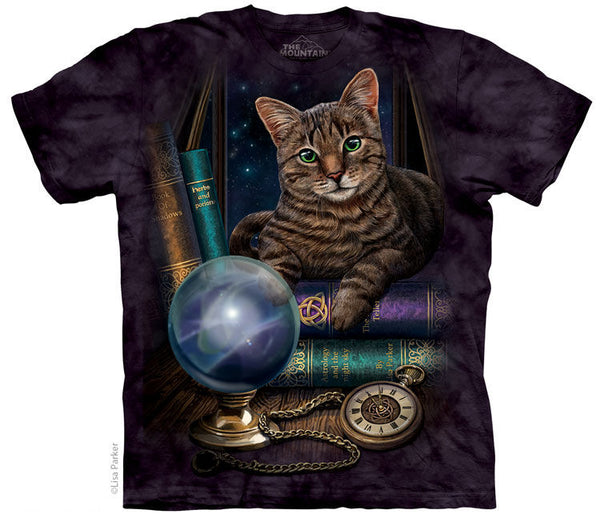 Fortune Teller Cat Adults T-Shirt