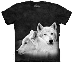 Wolf Siblings Adults T-Shirt