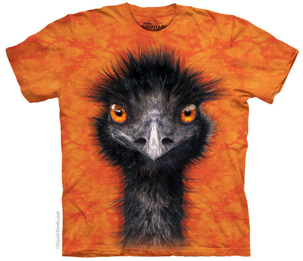 Emu Face Adults T-Shirt