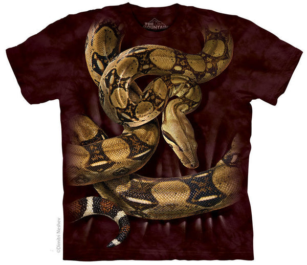 Boa Constrictor Squeeze Adults Snake T-Shirt