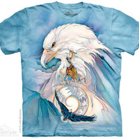 Peace At Last Eagle Adults T-Shirt