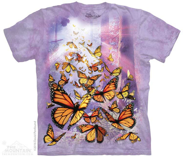 Monarch Butterflies Adult T-Shirt