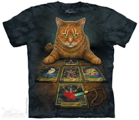 Tarot Reader Adults Cat T-Shirt