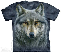 Warrior Wolf Adults T-Shirt