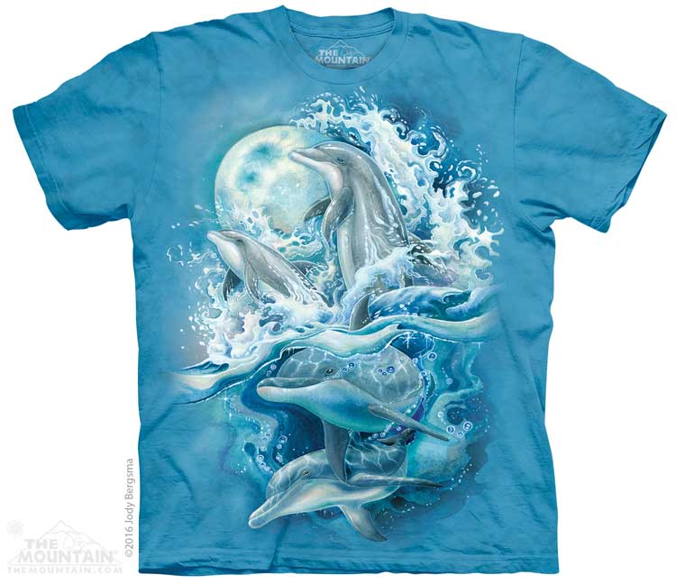 Bergsma Dolphins Adults T-Shirt