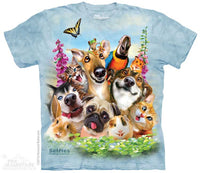 Pet Selfie Adults T-Shirt