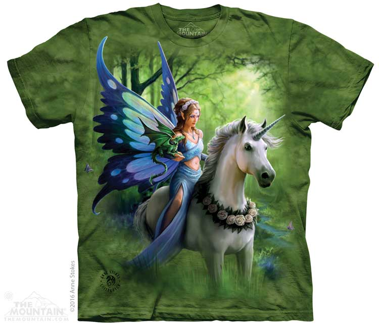 Realm of Enchantment Adults Fairy T-Shirt
