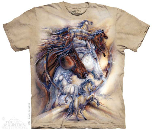 The Journey Adults Horse T-Shirt