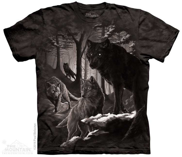 Dire Winter Wolf Adults T-Shirt