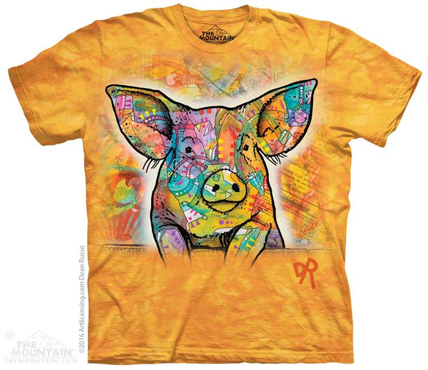 Russo Pig Adults T-Shirt