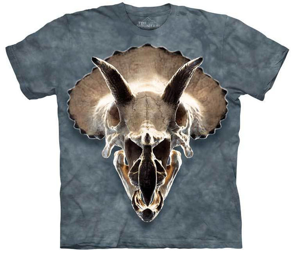Triceratops Skull Adults T-Shirt
