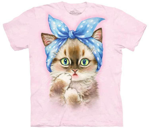 Pinup Kitten Adults T-Shirt