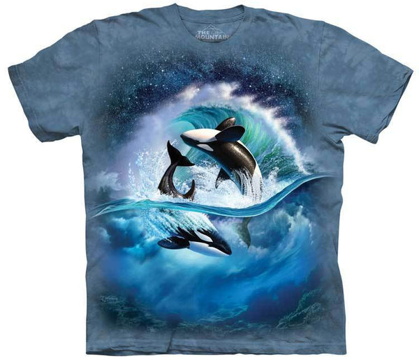 Orca Wave Adults T-Shirt