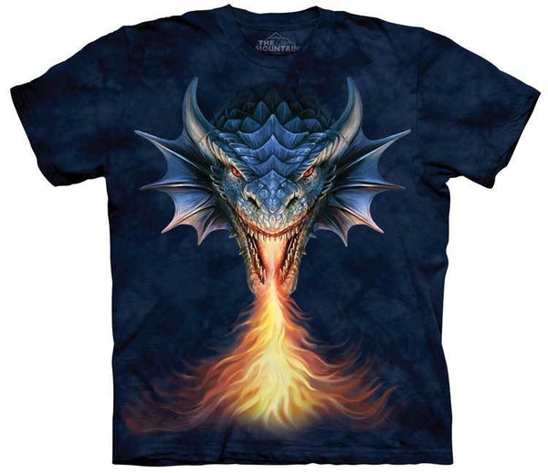 Fire Breather Dragon Adults T-Shirt