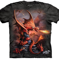 Fire Dragon Adults T-Shirt