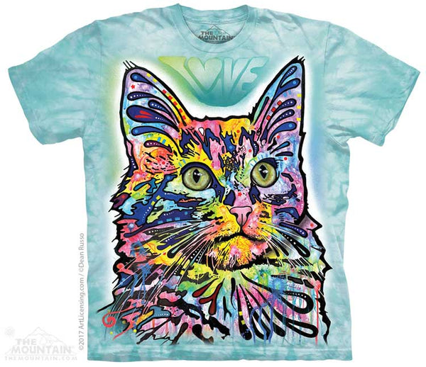 Angora Cat Adults T-Shirt