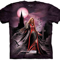 Blood Moon Vampire Adults T-Shirt