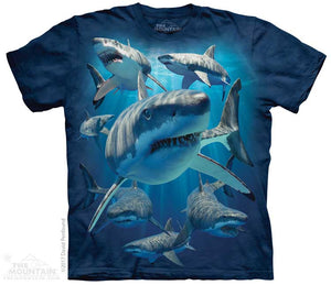 Great Whites (Shark) Adults T-Shirt