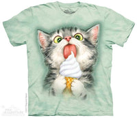 Creamy Cone Kitty Adults T-Shirt