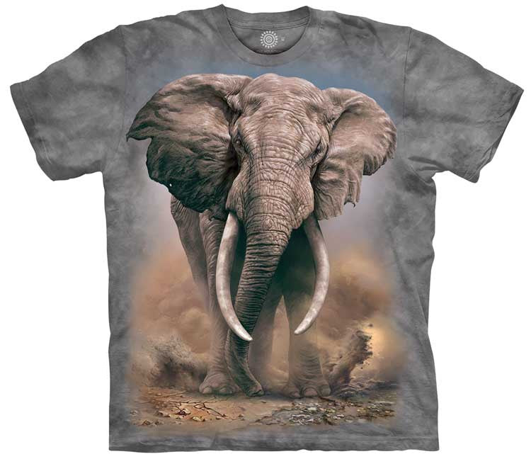 African Elephant Adults T-Shirt