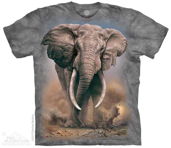 African Elephants Childrens T-Shirt