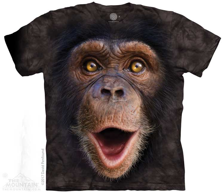 Happy Chimp Adults T-Shirt