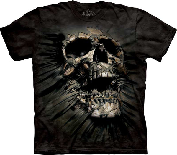 Breakthrough Skull Adults T-Shirt