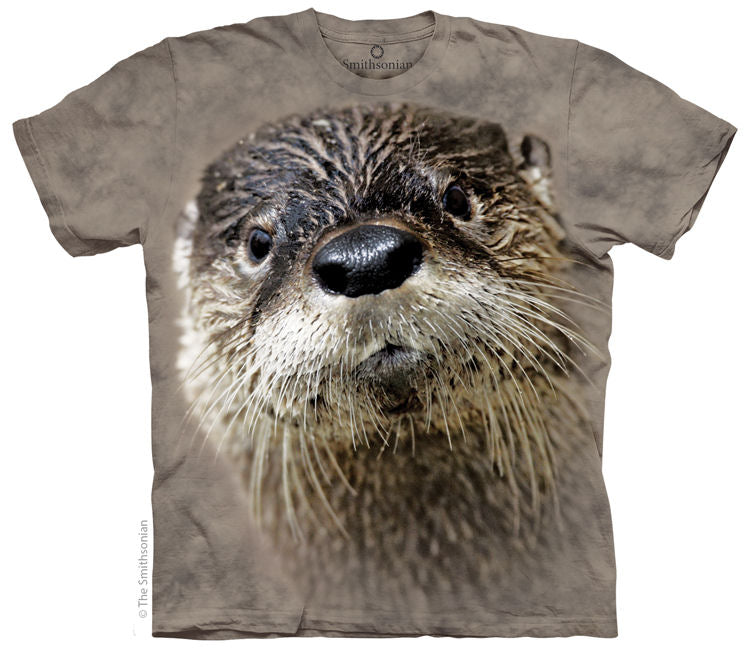 North American River Otter Adults T-Shirt
