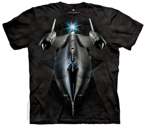 Lockheed SR71 Blackbird Aircraft Adults T-Shirt