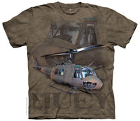 U.S. Army Huey Helicopter Adults T-Shirt