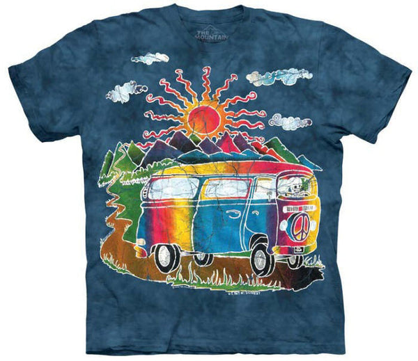 Batik Tour Bus Adults T-Shirt