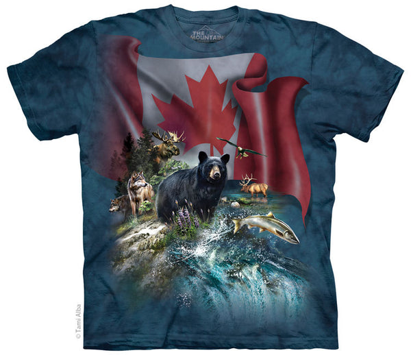 Canada the Beautiful Adults T-Shirt