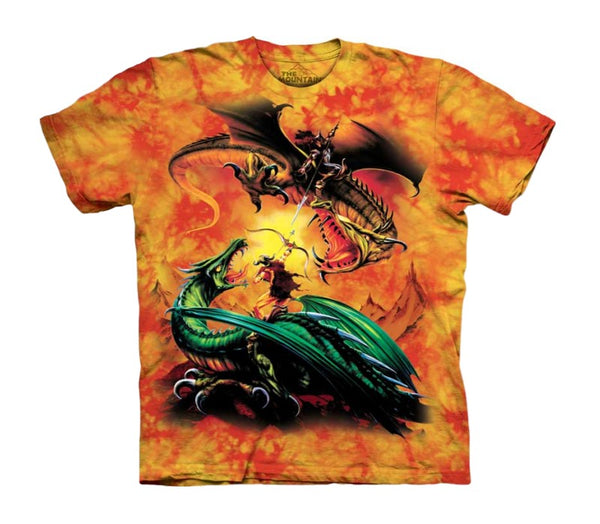 Dragon Duel Childrens T-Shirt