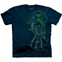 Octopus Tie Dye Childrens T-Shirt