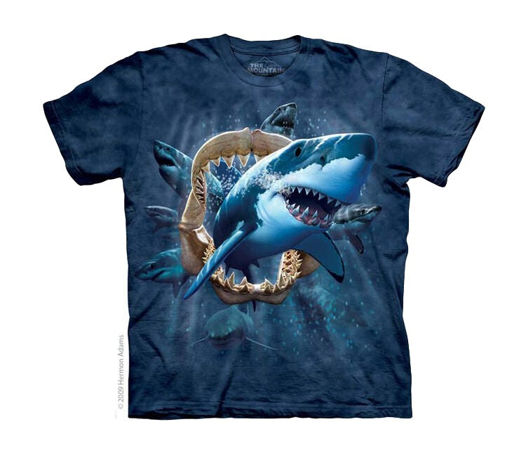 Shark Attack Childrens T-Shirt