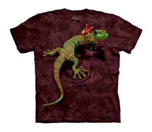 Peace Out Gecko Childrens T-Shirt