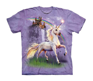 Unicorn Castle Childrens T-Shirt