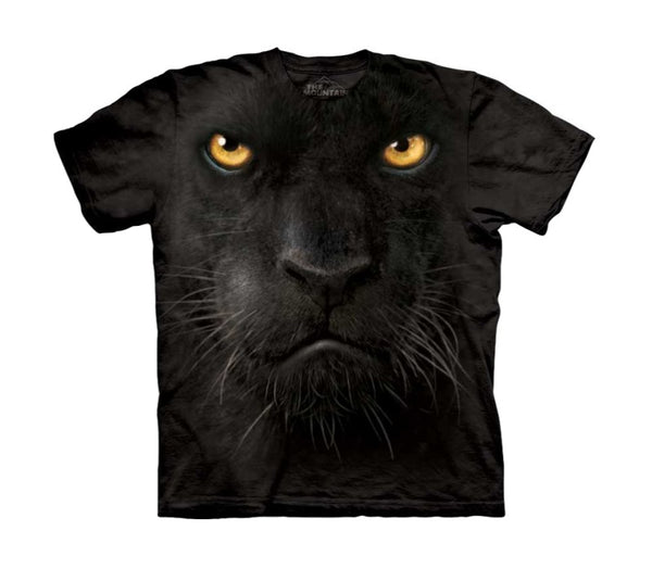 Black Panther Face Childrens T-Shirt