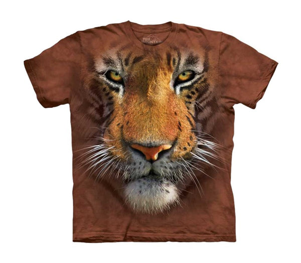 Tiger Face Childrens T-Shirt