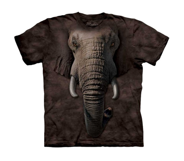 Elephant Face Childrens T-Shirt