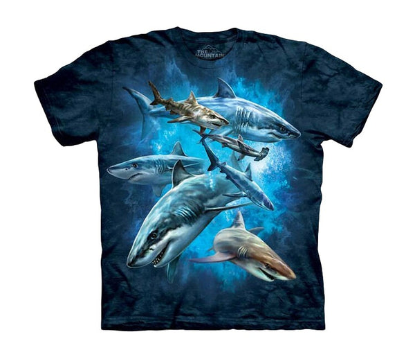 Shark Collage Childrens T-Shirt