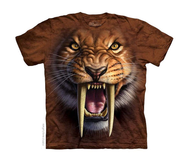 Sabertooth Tiger Childrens T-Shirt
