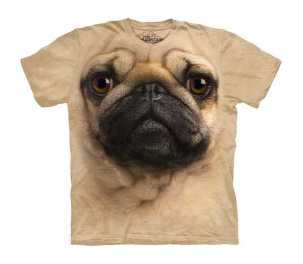 Pug Face Childrens T-Shirt