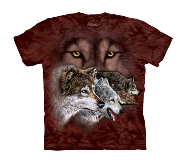 Find 9 Wolves Childrens T-Shirt