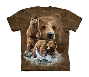 Find 10 Brown Bears Childrens T-Shirt