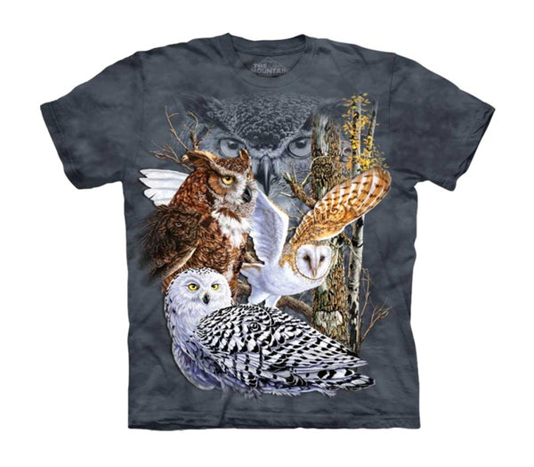 Find 11 Owls Childrens T-Shirt