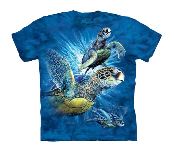 Find 9 Sea Turtles Childrens T-Shirt