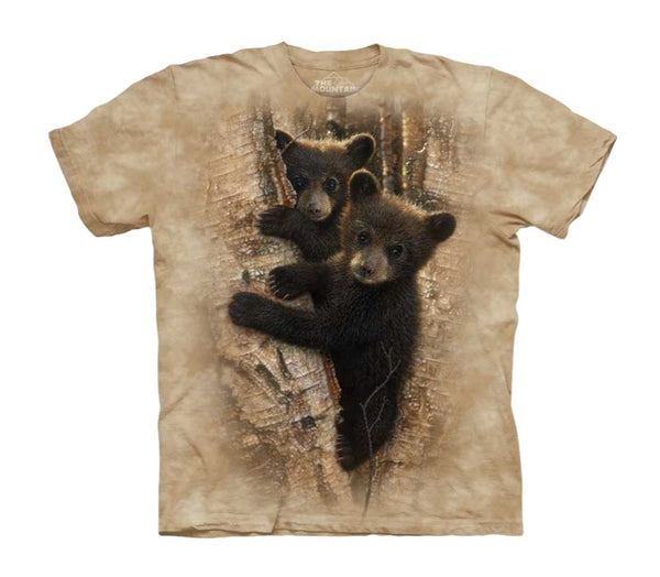Curious Bear Cubs Childrens T-Shirt