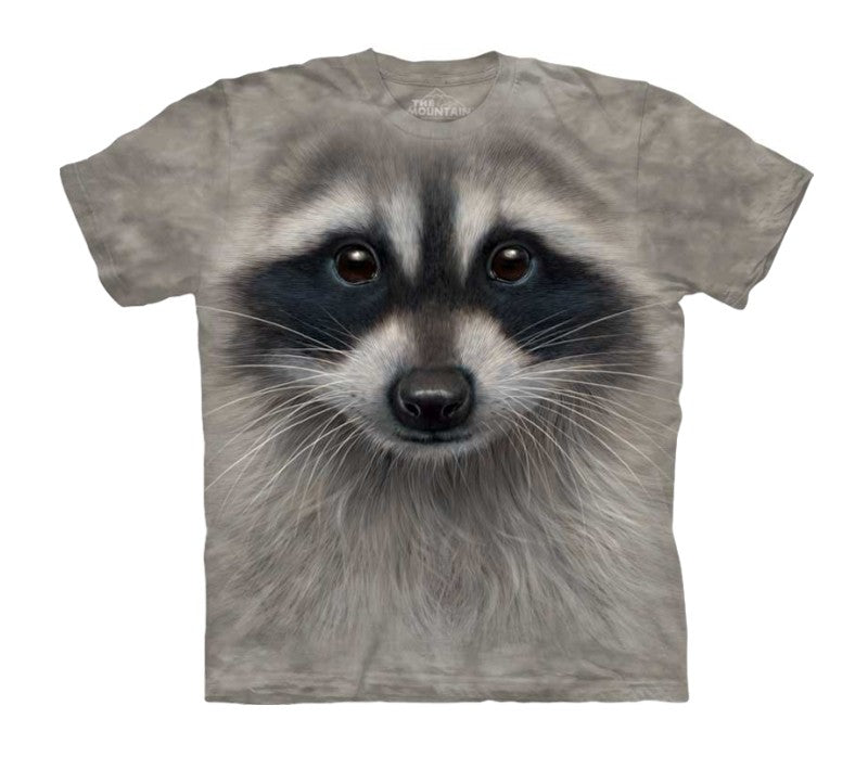 Raccoon Face Childrens T-Shirt