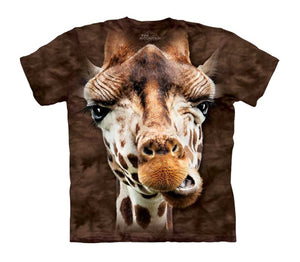 Giraffe Face Childrens T-Shirt
